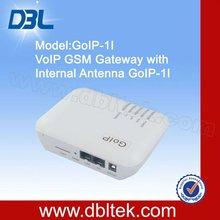 4 sim cards gsm voip gateway with internal atenna