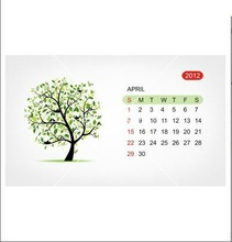 Popular 2012 Design Advertising Calendar