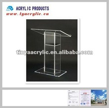 """Acrylic Christian Podium and Pulpit 26 3/4""""W x 14 1/4""""D 47""""H"""
