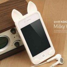 2012 Cute Orecchiette silicone skin case for iphone 4s