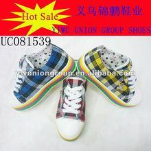 2012 new design women canvas shoes