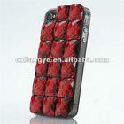 New design waterproof case for iphone 4,Bling bling meteorites phone case