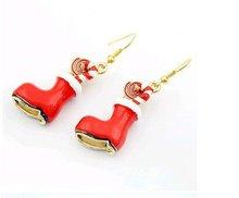 2012 fashionable chirstmas shoes earings