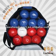 Supply cow leather boccia ball, bocce ball set