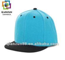 2012 hot sale blank flat bill snapback trucker hat