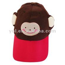 PARTY FUNNY ANIMAL BASEBALL CAP - MONKEY