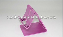 2012 new design Aluminum mobile phone holder for ipad2 3/for iphone