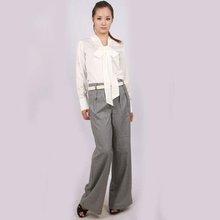 YIGELILA 2012 fashion women houndstooth wide leg Trousers 547