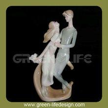 Porcelain couple valentine gift