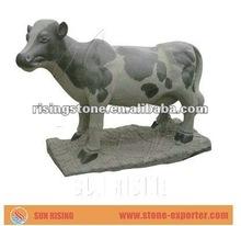 Famous Stone Milk Cow Sculpture (for garden)