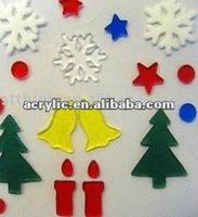 2013 Plastic Laser Cutting christmas decoration