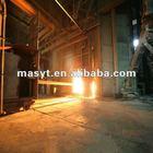 slag dart application machine for steel-making