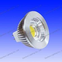 2012 New 5W COB MR16 led spotlight with anti-glare reflector