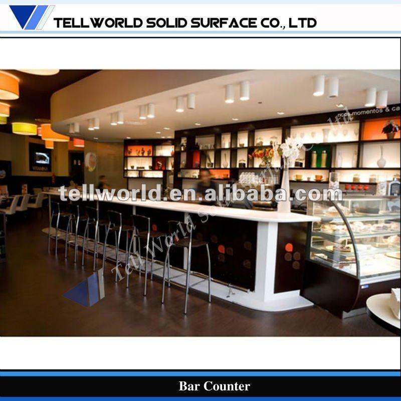 Tw con estilo barra de bar de dise o moderno desayuno for Diseno de barras de bar