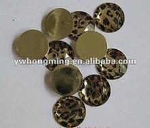 Gold Leopard Acrylic Rhinestone!!2012 HOT HOT Sale Acrylic Rhinestone Leopard animail Print!!