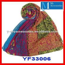 2012 newest shawls 100% viscose