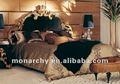 B601d-19/20/21 italia de madera tallado diseños de la cama