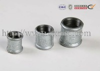 galvanized malleable iron pipe fittings beaded muff