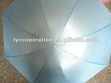 2012 best quality UV protect 3folding umbrella