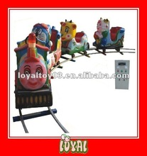 China Produced indoor amusement park passenger trains for sale with good quality and Cartoon Locomotive