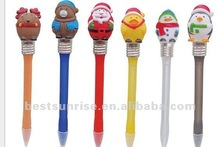 Christmas knock lights pen