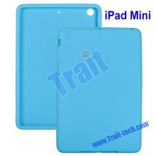Factory Price! Hot Selling New Arrival Silicon For iPad mini Covers Case (various design)