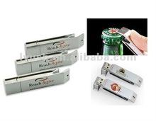 best selling gift usb stick , bottle opener pendrive, logo usb key 8gb