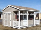 portable light steel structure prefabricated house villa