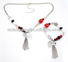 fashion Necklace match with bracelet set