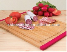 hot sell chopping board with silicone anti slip