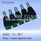 FL-ML7 2.1x5.5 male ear phone jack plug feiln wholesale