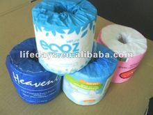 de papel envoltura individual en relieve de flores de papel suave tejido
