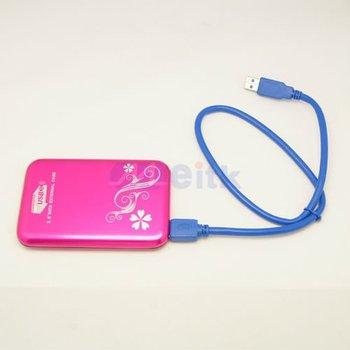 "Super Speed USB3.0 2.5""mini Disk 2.5""Sata External Case"