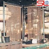 decorative stainless steel mesh curtain used in interior