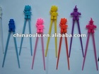 2012 children love's animal silicone chopsticks