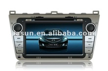 "Hot sale 8"" HD digital touch screen Car audio for Mazda 6"