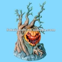 Handmade novelty resin pumpkin for halloween