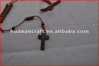 religious rosary crucifix cross statue keychain pendant wooden beads souvenir christian usb stick