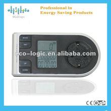 2012 indoor watt wireless energy meter clock with standby mode function from factory