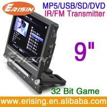 Erisin ES398 twin screen in car dvd player-9 inch