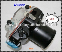 2012 New Arrival Professional Waterproof Camera Case Useful Nikon D7000 DSLR, Rushed Popular in Asean Country .