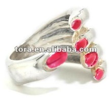 Fashion Hand with nail polish Ideas Rings potters Engagement Ring rings 2012