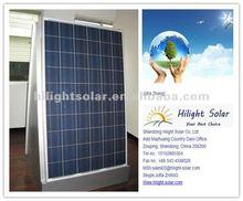 low price per watt ploy solar panel 255W for solar system with yingli solar cells