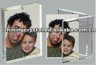 2012 new design crystal photo frame