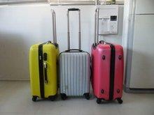 2012 ABS 3 pcs set 20/28/28 zipper eminent kids travel trolley latest carry on hot sale rigid spinner kids case