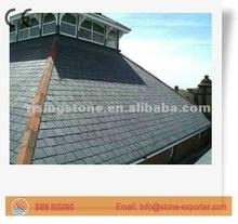 Natural Black Slate Roofing Tile for villa