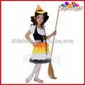 Crianças trajes da empregada doméstica para cosplay festa temática