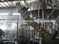 3in1 automática de vidrio botella de licor/alcohol máquinadellenado