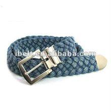 New Vintage Cotton Braided Woven Canvas Belt man woman unisex style