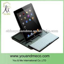 Black 360 Degree Swivel Stand Case Bluetooth Keyboard for iPad 2 3 3rd Gen